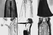 Costume drawings