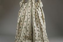 18th century painted textiles / Painted textiles, mostly Chinese origin, used in 18th century dress.