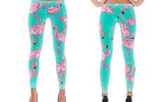 Designer Leggings / designer leggings, full length and capri from original art designs by beth picard