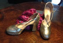 Glittering Vintage / Platform, sandals, décolleté...all in gold and silver