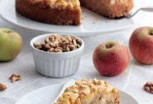Kuchen / Apfel Nuss