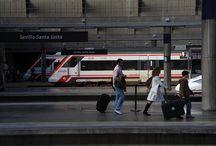 Fotografías desde el tren / El tren sugiere viaje, escapada, romanticismo, libertad... ofreciendo muchas posibilidades para el arte fotográfico. ¿Me ayudas a completar la colección?