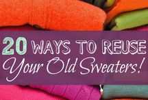 reuse Old sweater