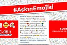 #AskinEmojisi / Sodexo Sevgililer Günü Yarışmamız #AskinEmojisi sona erdi. Paylaşımlarıyla Instagram hesabımızı renklendiren tüm takipçilerimize teşekkür ederiz.