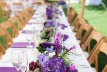 Tablescapes / #tabledecor #centerpieces #placesettings #placecards #candles #lighting #floralarrangements