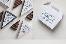cajas de pasteles