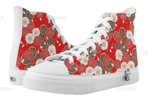 Awesome Sneakers For Cool People / I've collected the most awesome sneakers for cool people on this Pinterest board. From hi-tops, lo-tops and slip on canvas printed sneakers. I love the diversity of designs I've found and want to share them with you.  / by Lasgalen Arts
