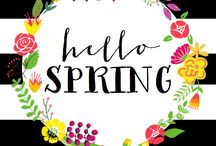 Spring- Free printables