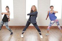 Fitness dance videos