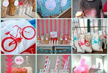 Bicycle themed party
