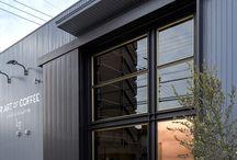 Warehouse exteriors