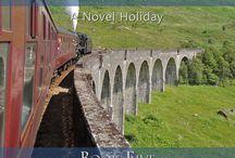 Harry Potter Places Book 5--Scotland: Hogwarts' Home / Visit Harry Potter Places found in Scotland!