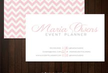 Business Cards / by Spark Weddings and Events