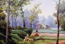 paisajes campesinis