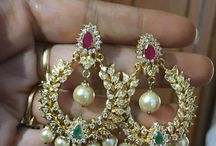 Chandbalis on sale at 22caratjewellery.com