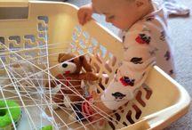 Sensomotorische activiteiten babys