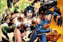 DC Comics Wallpapers / #La justice League: #Superman, Batman, #Flash, #Wonder Woman, #Green Lantern, wallpaper fonds d'écran