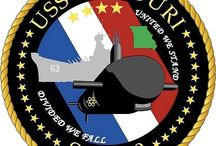 USS Military patches
