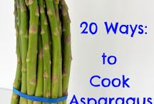 Asparagus Recipes / Ways to cook Asparagus