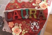 Gemaakt door Laura / Mijn crea bea 9 jarige