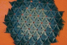 Origami Crease Patterns & Tessellation  / crease patterns, helps and hints for using