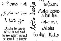 Hawaiian-ish. <3 / by Laura Knappenberger