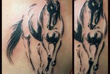 Horse tattoos