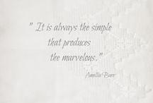 Simplicity...!