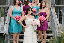 Bridesmaids dresses / by Twylen Hadley