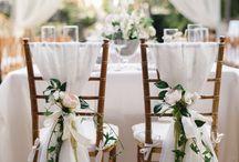 Bröllop pynt / Inspiration, dukning, blommor osv