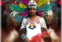 Aztec penachos