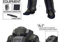 Exoesqueletos y armaduras