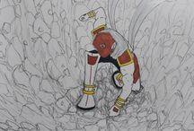 Misael Timothy Original Drawings