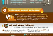 Fracking- What about our water? / We are all about water preservation- Anything that might threaten the sustainability of this resource, is something that we cannot condone...