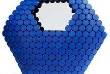 Repurposed plastic lids