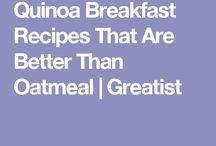 Quinoa ideas