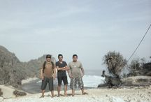 Beautiful Ngobaran Beach / Hollyday