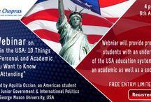 Webinar on Study in USA