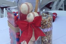 Sports Craze Weddings by Sherry's Petals / Variety of sports flowers floral designs by Sherry's Petals