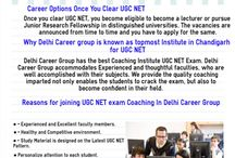 Best Coaching UGC NET Computer Science In Chandigarh / In this article be to discuss best Coaching Institute in Chandigarh for UGC NET Entrance exam. If you want to better guidance about UGC NET exam then you join Delhi Career Group Coaching Institute. After joining this Coaching Candidate is definitely crack the exam with good marks.