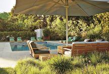 Bazény v zahradě