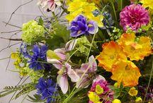 WI Floral Demonstration  / Beautiful Floral displays created by Joe Massie