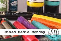 Mixed Media Monday Cards