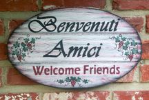 Italian Amici ¸.• *•.❥¸.• *•.❥ ♥ / Italian pin friends! Met on Pinterest and friendships formed. / by Thérèse 📌