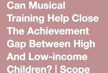 Closing the Achievement Gap Through Music
