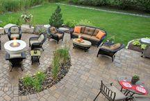 Garden deck and patio ideas