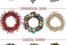 Natal / Minhas inspirações para a decoração de Natal.