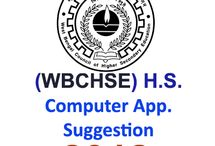 Higher Secondary 2018 Computer Application Suggestion প্রকাশিত হল SuggestionPedia থেকে।