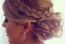prom hair long updo