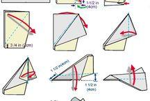 papíírhajtogatás: repülő